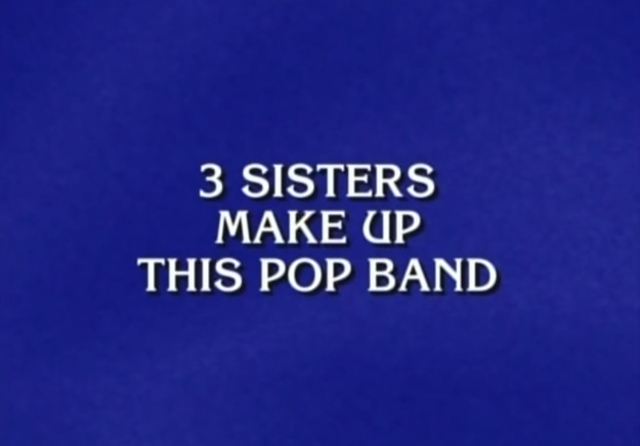 Jeopardy - Haim