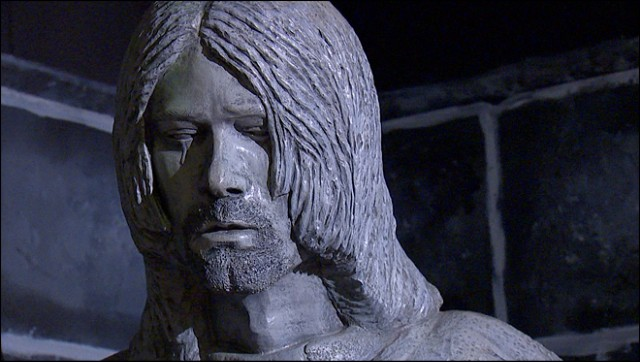 Kurt Cobain Statue In Aberdeen