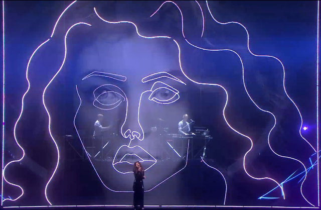 Lorde & Disclosure @ 2014 Brit Awards