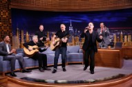 Watch U2 Play Jimmy Fallon&#8217;s First <em>Tonight Show</em>