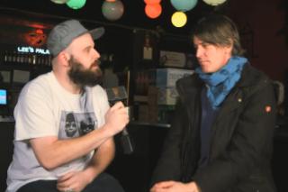 Watch Damian Abraham Interview Stephen Malkmus On <em>The Wedge</em>