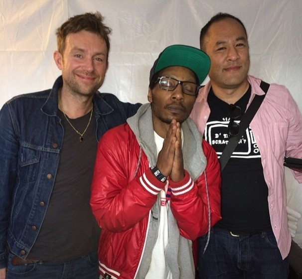 Damon Albarn, Del The Funky Homosapien & Dan The Automator at SXSW