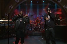 Rick Ross & French Montana on Late Night