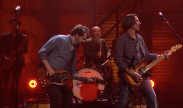 Watch Drive-By Truckers Play Conan