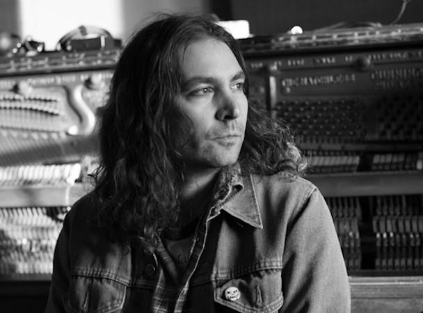 The War On Drugs' Adam Granduciel in the studio