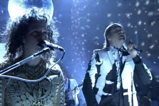 """Hear Arcade Fire's Live Cover Of Blondie's """"Heart Of Glass"""""""