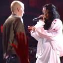 Watch Eminem & Rihanna Peform, Jack White Cameo With Conan At The MTV Movie Awards