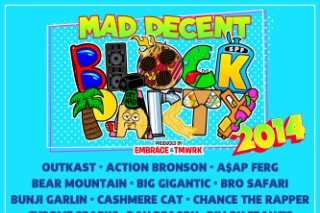 Outkast, Chance The Rapper, Run The Jewels Playing 2014 Mad Decent Block Parties