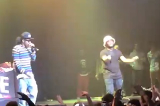 "Watch Schoolboy Q And Ab-Soul Debut ""Druggys Wit Hoes 3″ In L.A."