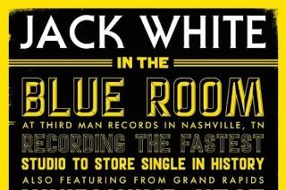 """Jack White To Record, Press, And Release """"Lazaretto"""" 7″ In A Single Day"""