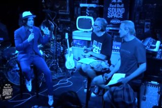 Watch Kevin And Bean's Breakfast With Jack White At The Red Bull Sound Space