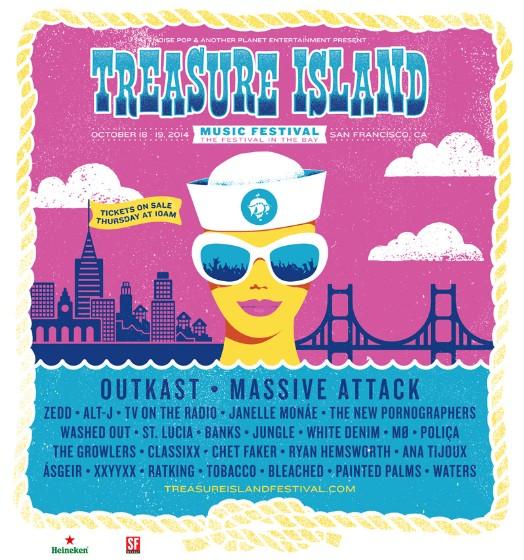 Treasure Island 2014