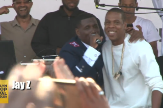 Watch Jay Z Join Jay Electronica At Brooklyn Hip-Hop Fest