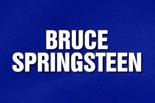 Watch <em>Jeopardy!</em> Devote A Category To Springsteen