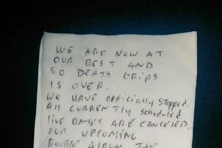 Death Grips Break Up