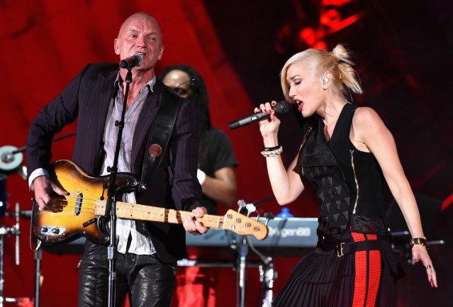 Sting & No Doubt @ 2014 Global Citizen Festival