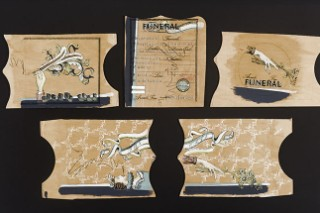 Check Out Arcade Fire&#8217;s Original <em>Funeral</em> Art And The Story Behind It