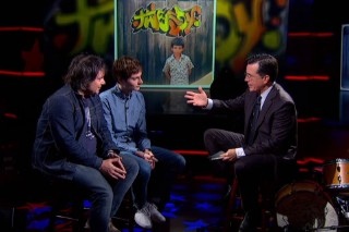 Watch Stephen Colbert Unleash The Dad Jokes Upon Tweedy