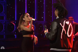 Watch Ariana Grande &#038; The Weeknd Play <em>SNL</em>&#8217;s 40th Season Premiere