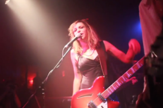 Isolated Mic Exposes Courtney Love's Earsplitting Guitar Playing