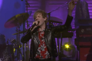 Watch Beck Kick Off <em>Conan</em>&#8217;s George Harrison Week
