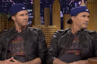 Watch Lookalikes Chad Smith And Will Ferrell Cover The Rolling Stones At Charity Show