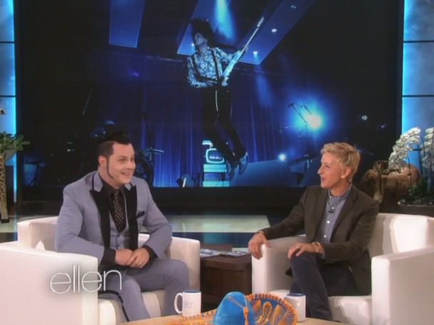 Watch Jack White Perform On <em>Ellen</em> &#038; Talk About Injuries &#038; Video Games
