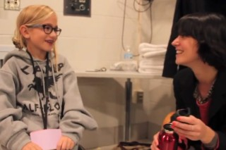 Watch A Kid Interview Sharon Van Etten