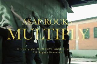 """A$AP Rocky – """"Multiply"""" Video (Feat. Juicy J)"""