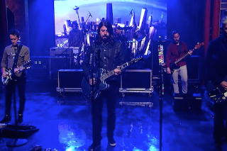 Watch Foo Fighters Perform &#8220;Something From Nothing&#8221; And Make Their Own Top Ten List On <em>Letterman</em>
