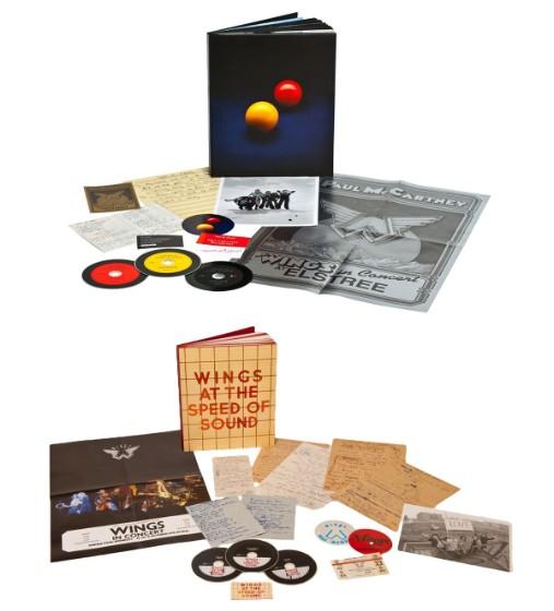 Paul McCartney + Wings Reissues