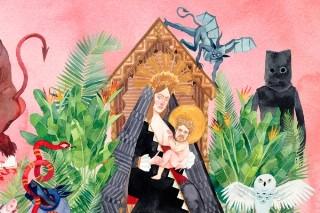 Watch Father John Misty Play &#8220;Bored In The USA&#8221; From New Album <em>I Love You, Honeybear</em> On <em>Letterman</em>
