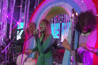 Watch The Flaming Lips Bring The Beatles To <em>Kimmel</em>