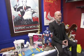 Watch Stephen Colbert Sell Michael Stipe