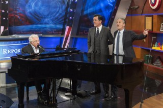 <em>The Colbert Report</em> Says Goodbye With An All-Star Serenade &#038; Neutral Milk Hotel&#8217;s &#8220;Holland, 1945&#8243;