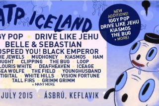 ATP Iceland 2015 Lineup