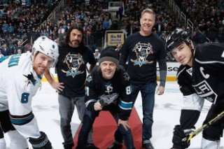 Scenes From The San Jose Sharks' Metallica Night