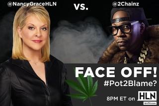 Watch 2 Chainz Debate Nancy Grace About Legalizing Pot