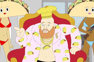 Watch Animated Action Bronson As An Angry Taco Truck Owner On <em>Lucas Bros. Moving Co.</em>