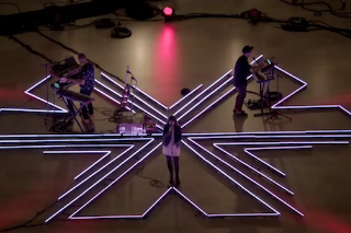 "Watch Chvrches Perform ""The Mother We Share"" In An Empty Grand Central Station"