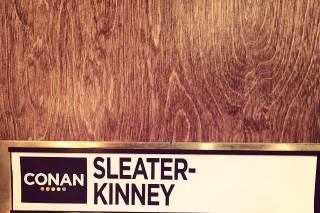 Watch Sleater-Kinney Blaze Through &#8220;Surface Envy&#8221; On <em>Conan</em>