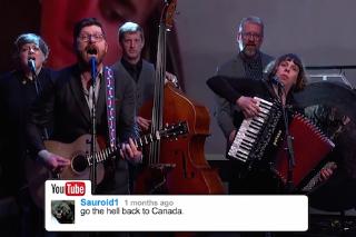 Watch The Decemberists Sing YouTube Comments On <em>Jimmy Kimmel Live!</em>