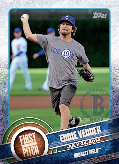 Eddie Vedder Baseball Card