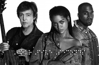 "Rihanna, Kanye West, & Paul McCartney – ""FourFiveSeconds"""