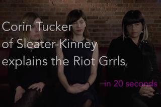 Watch Sleater-Kinney Explain Riot Grrrl In 20 Seconds