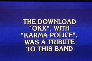 Radiohead Was The Answer To A Very Surprising <em>Jeopardy!</em> Question