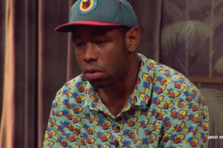 Watch Tyler, The Creator Cry On <em>The Eric André Show</em>