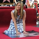 Congratulating Jennifer Aniston On Her Walk Of Fame Star