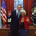 The Videogum <em>Why Don&#8217;t YOU Caption It?</em> Contest: President Obama And <em>Star Trek</em>&#8217;s Lieutenant Uhura Giving The Vulcan Salute In The Oval Office