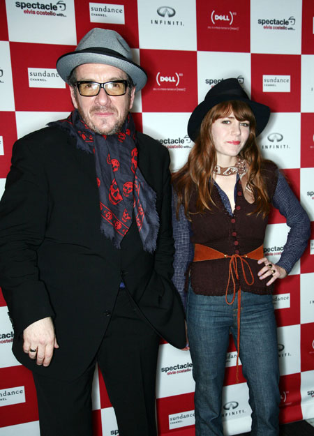 Elvis Costello Joins Jenny Lewis&#8217; Band At <em>Spectacle</em> Wrap Party